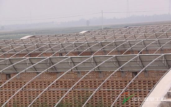 钢架日光温室大棚